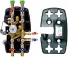 """Produktbild: Verteilergruppe mit zentraler thermischer Regelung  1"""""""
